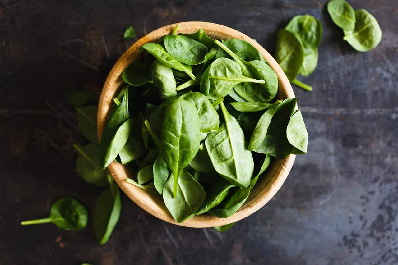 Spinach for a Runner's Diet