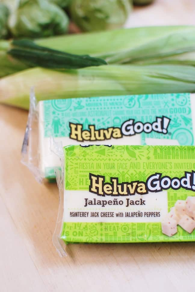 Heluva Good Cheese makes excellent cheese and veggie quesadillas!