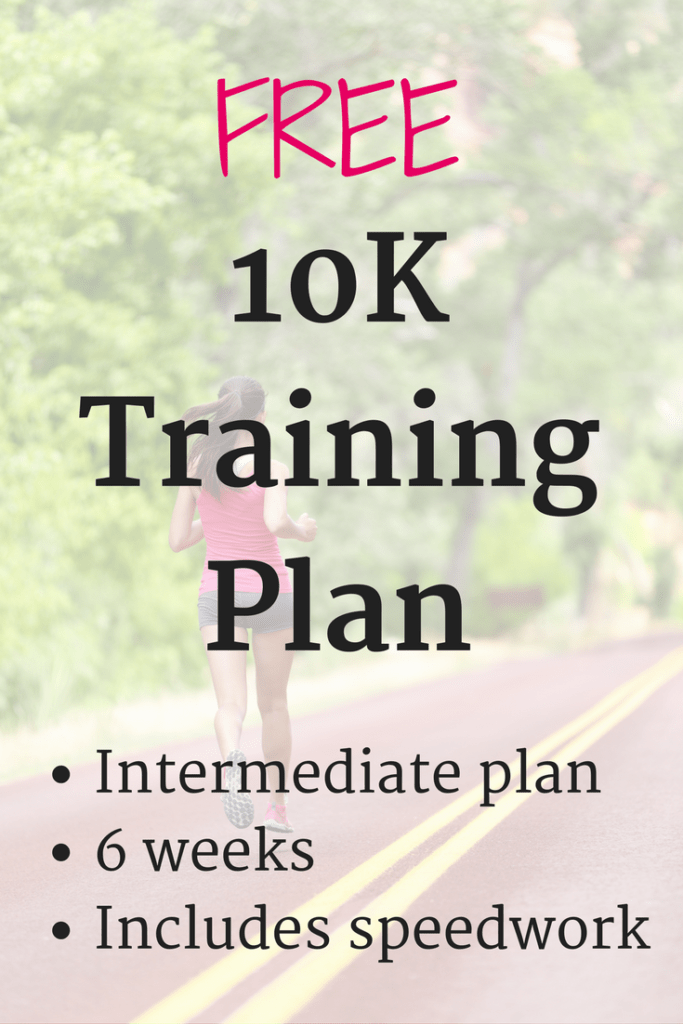 This intermediate 10K training schedule is an excellent option for runners who want to start experimenting with speedwork and interval training.