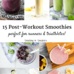 Check out these 15 healthy post workout smoothie recipes! All of them are healthy and perfect for replenishing your muscles after a tough workout.