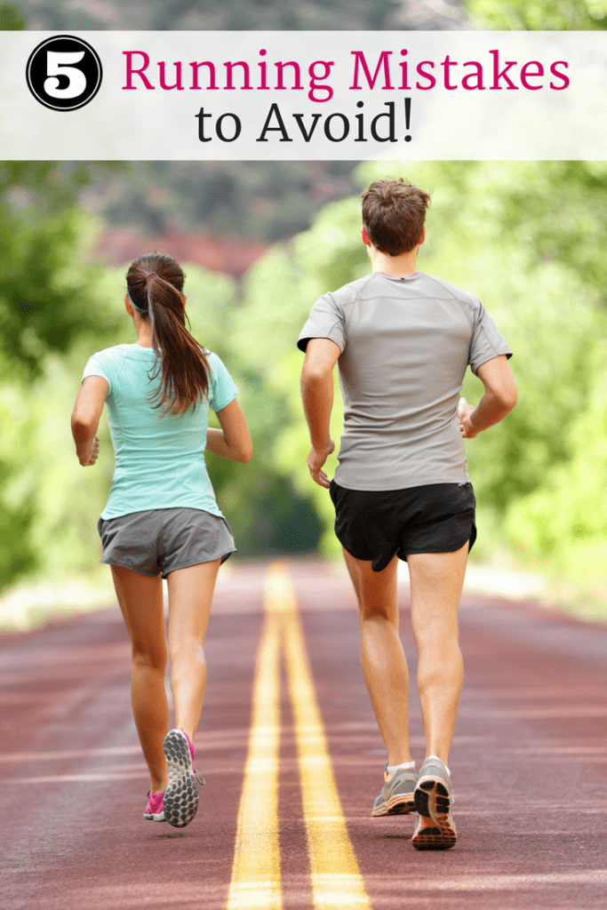 5 Running Mistakes that Beginners Should Avoid