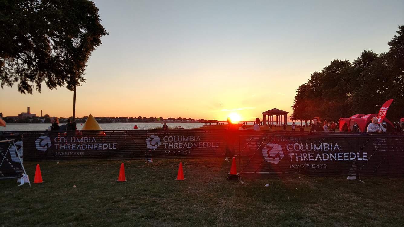 Boston Triathlon Morning