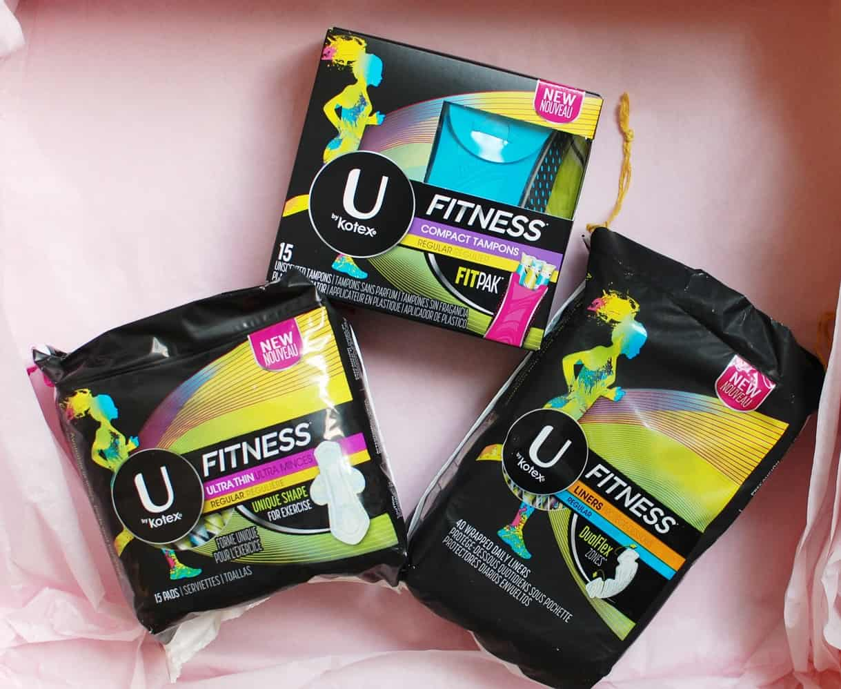 Racing with your period? Try U by Kotex FITNESS products!