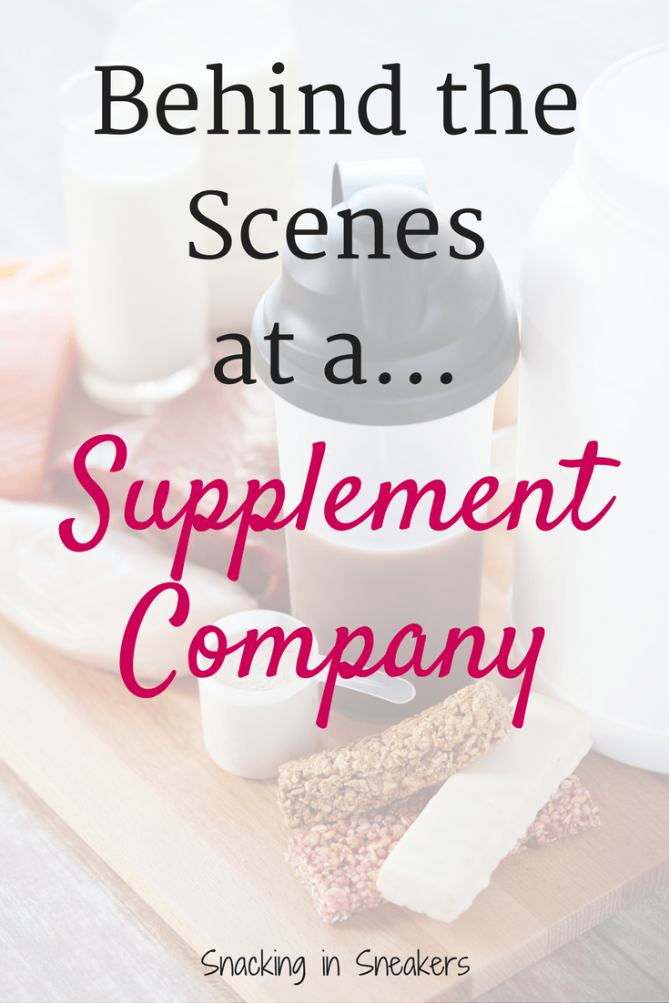 Ever wondered what really goes on at a supplement company? Find out in this behind the scenes look!