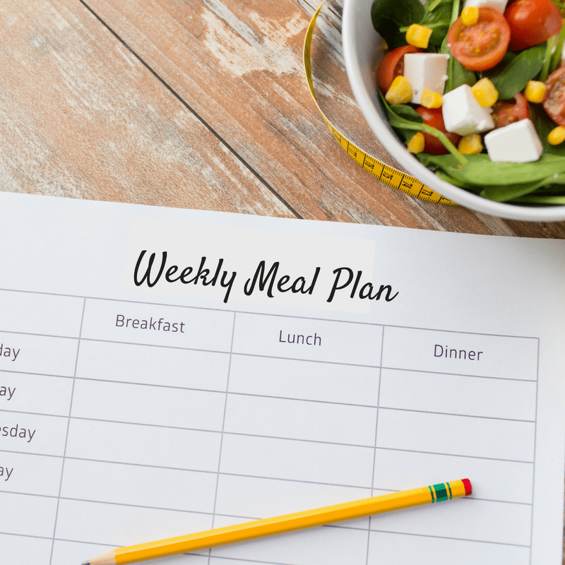 Meal Prep Tip - Create a Weekly Meal Plan