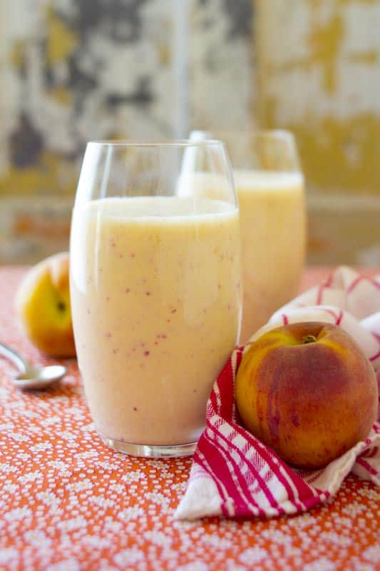 Peach Recovery Smoothie