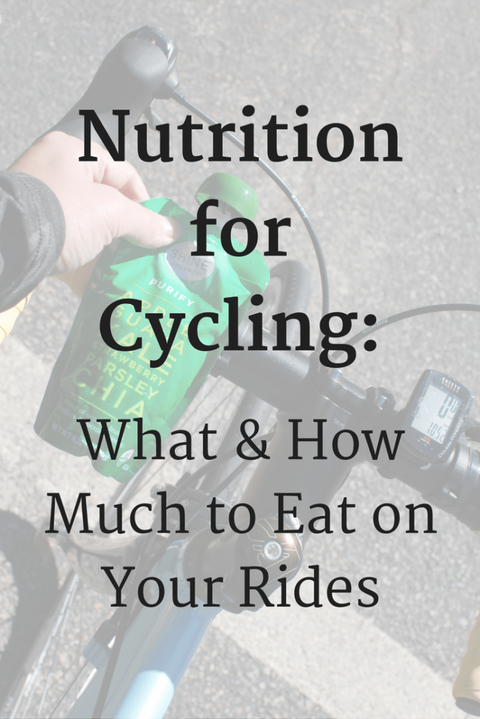 Biking Nutrition:  Tips for What & How Much to Eat