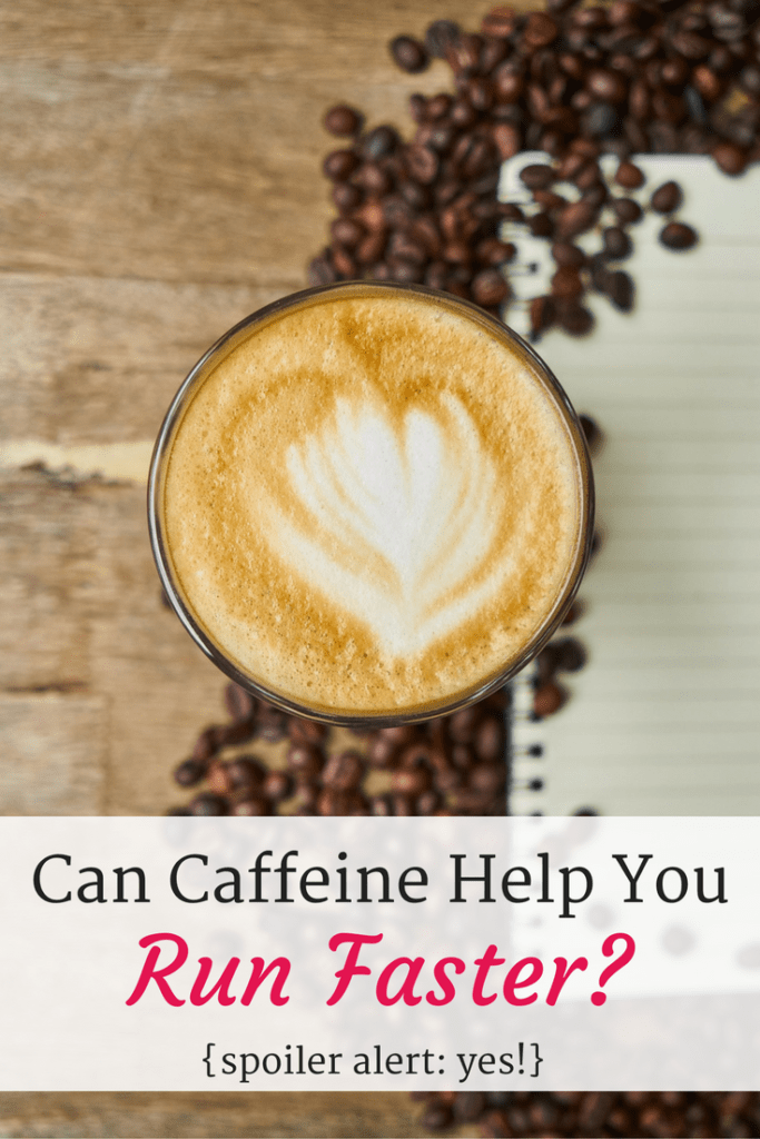 Try coffee before a run for a faster pace {No caffeine wean needed!}