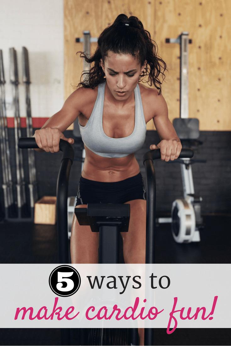 Cardio feeling a little tedious? Find 5 ways to make cardio fun!