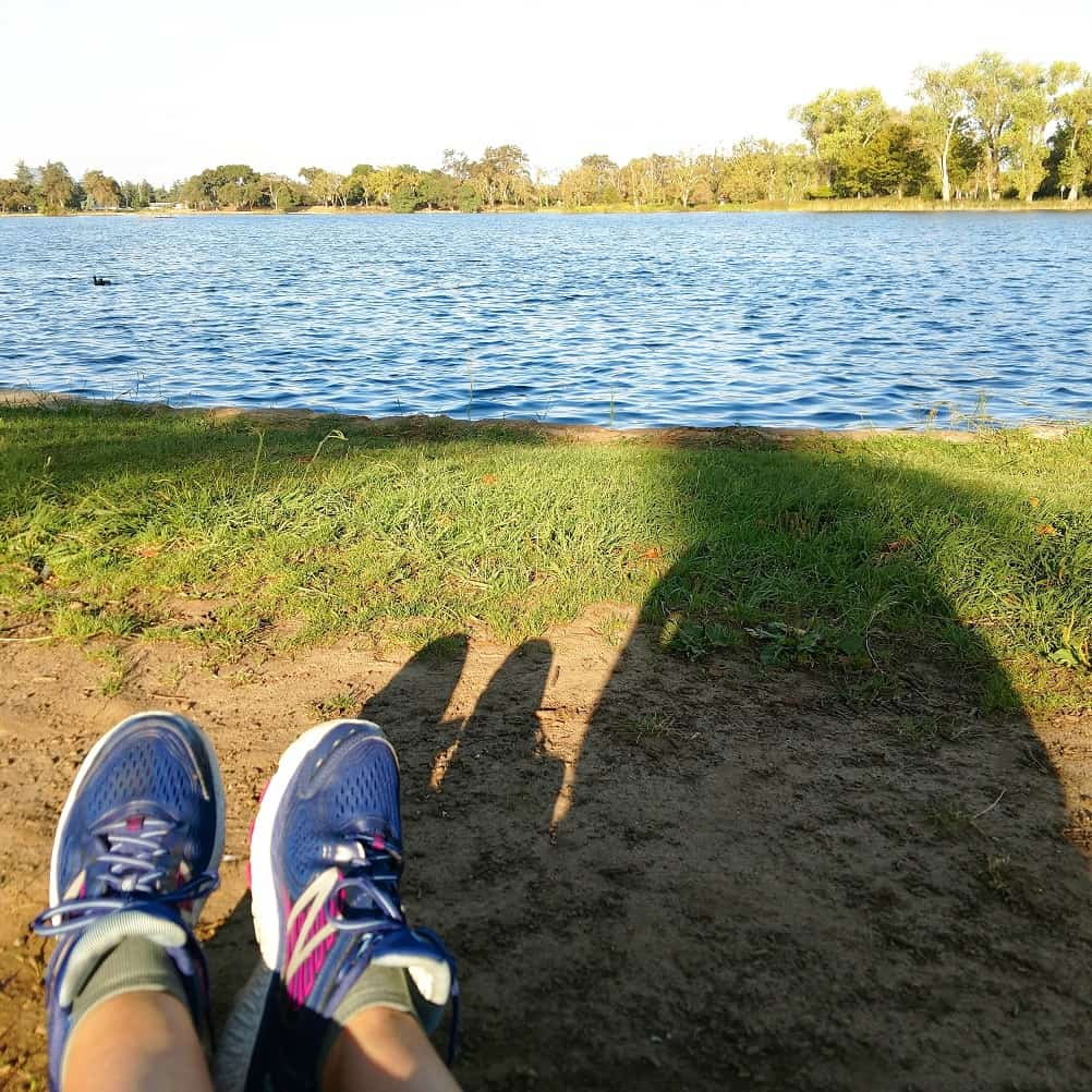 Run at Lodi Lake