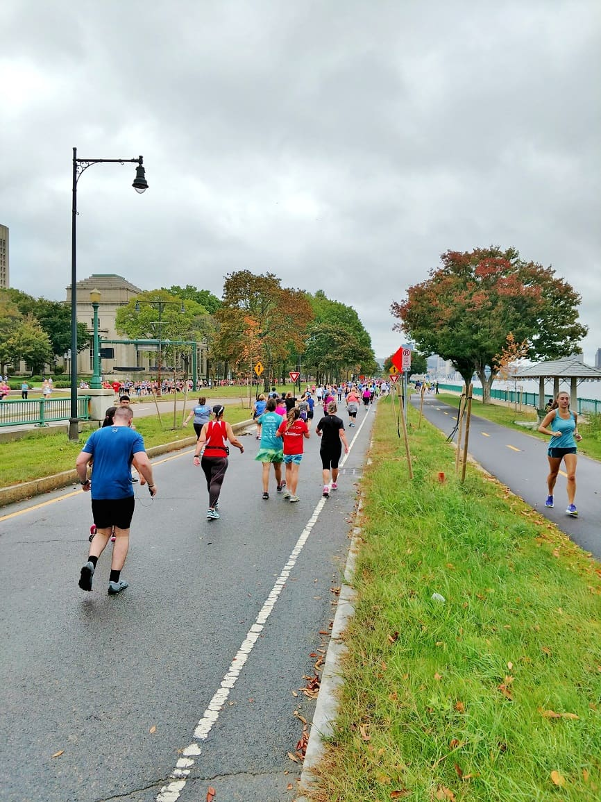 Tufts Health Plan 10K Course Memorial Drive