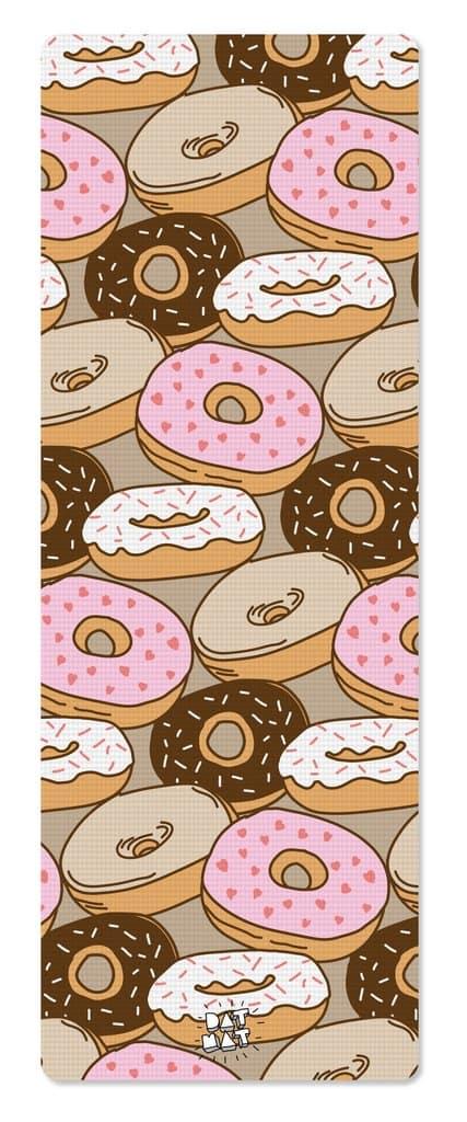 Donut yoga mat fitness gift