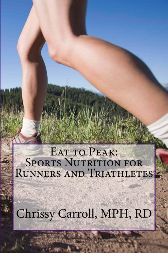 Eat to Peak Sports Nutrition Book