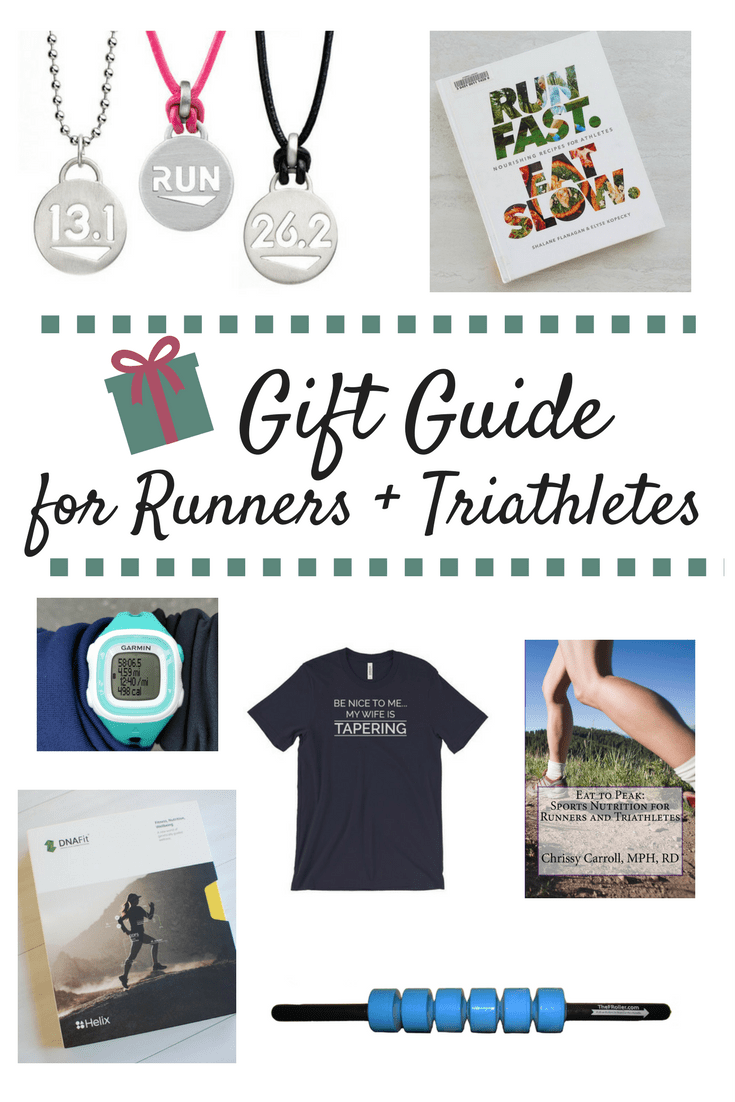 Gift Guide for Runners and Triathletes