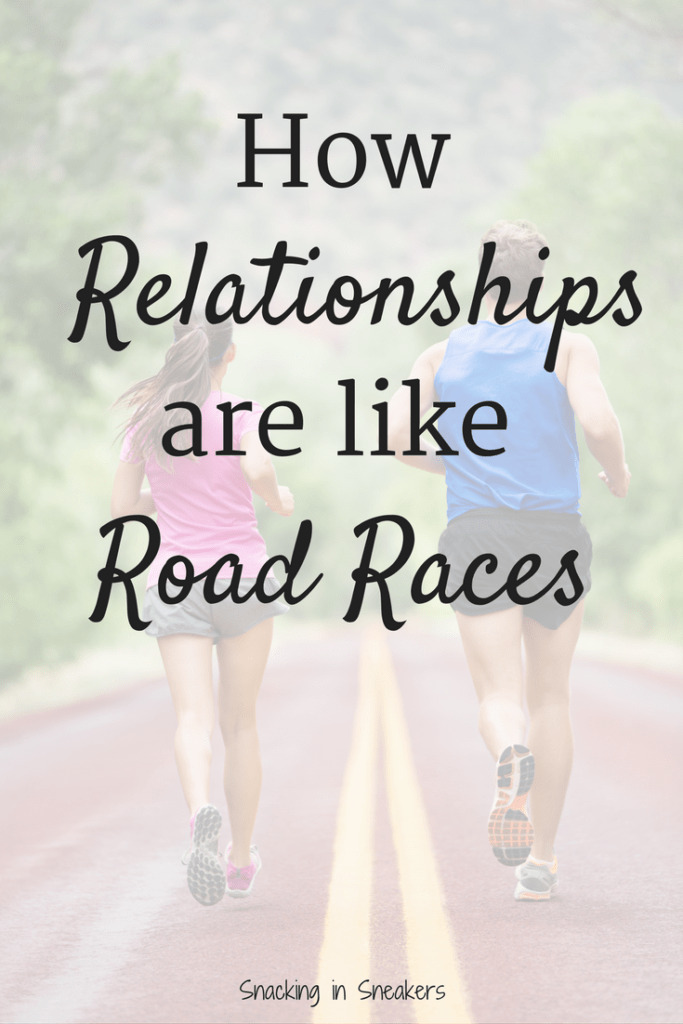 Nurturing relationships is a key part to developing stronger friendships and marriages! Read about how relationships are like a series of road races, and find inspiration for your own relationship goals.
