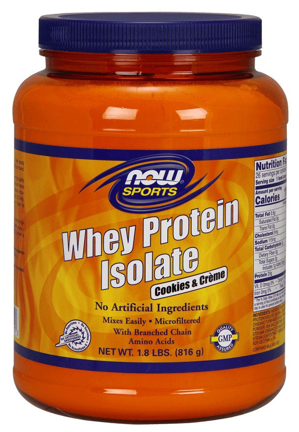 NOW Foods Whey Protein makes a best fitness gift in 2017!