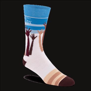 Sock Problems Racism Sock