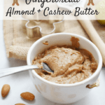 Homemade gingerbread nut butter is the Christmas - or anytime! - treat that you need in your life.