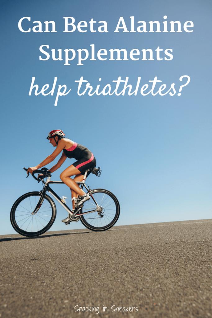 Can beta alanine supplements help triathletes?