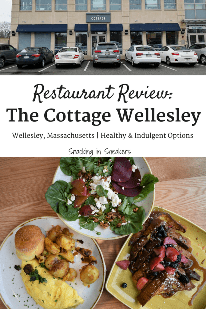 Brunch at The Cottage Wellesley:  Healthy & Indulgent Options!