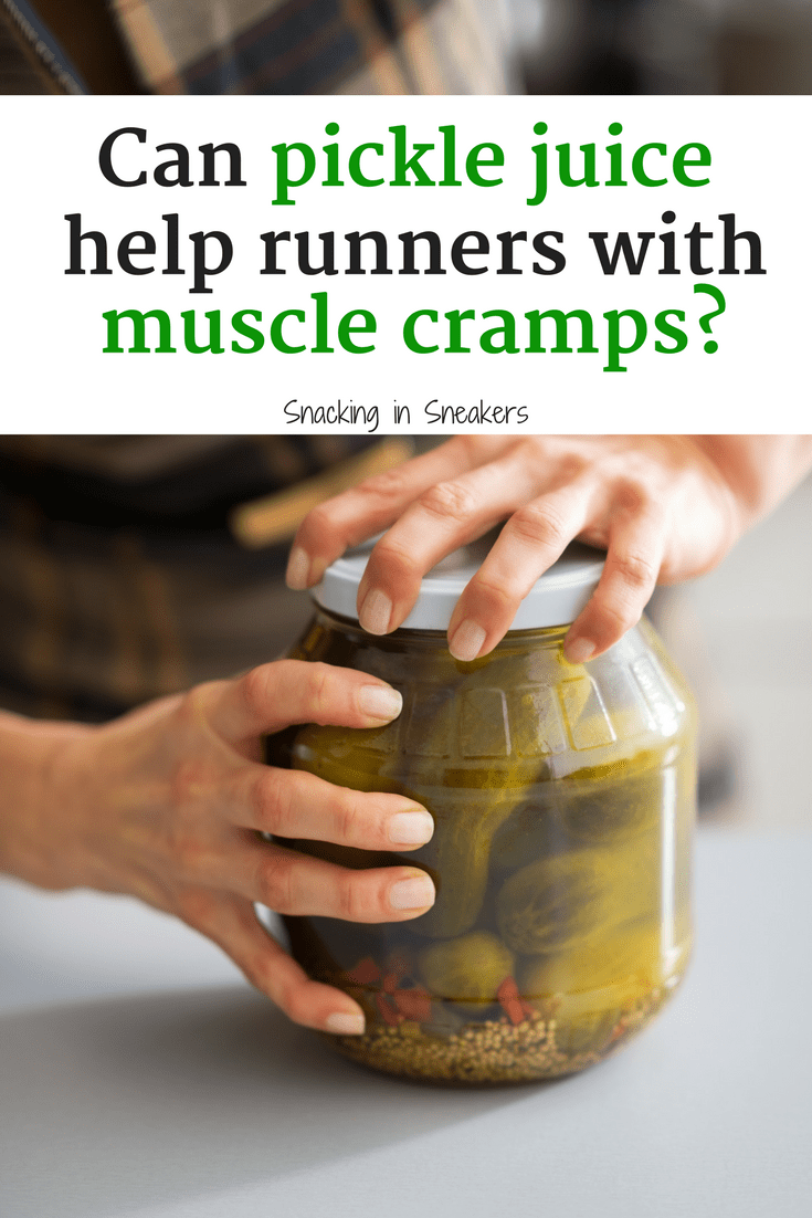 pickle juice for runners – hope or hype for muscle cramps?