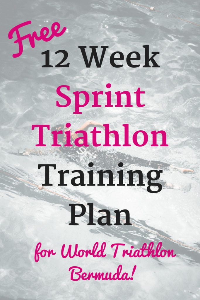 Thinking about World Triathlon Bermuda? Find a free 12 week sprint triathlon training plan here.