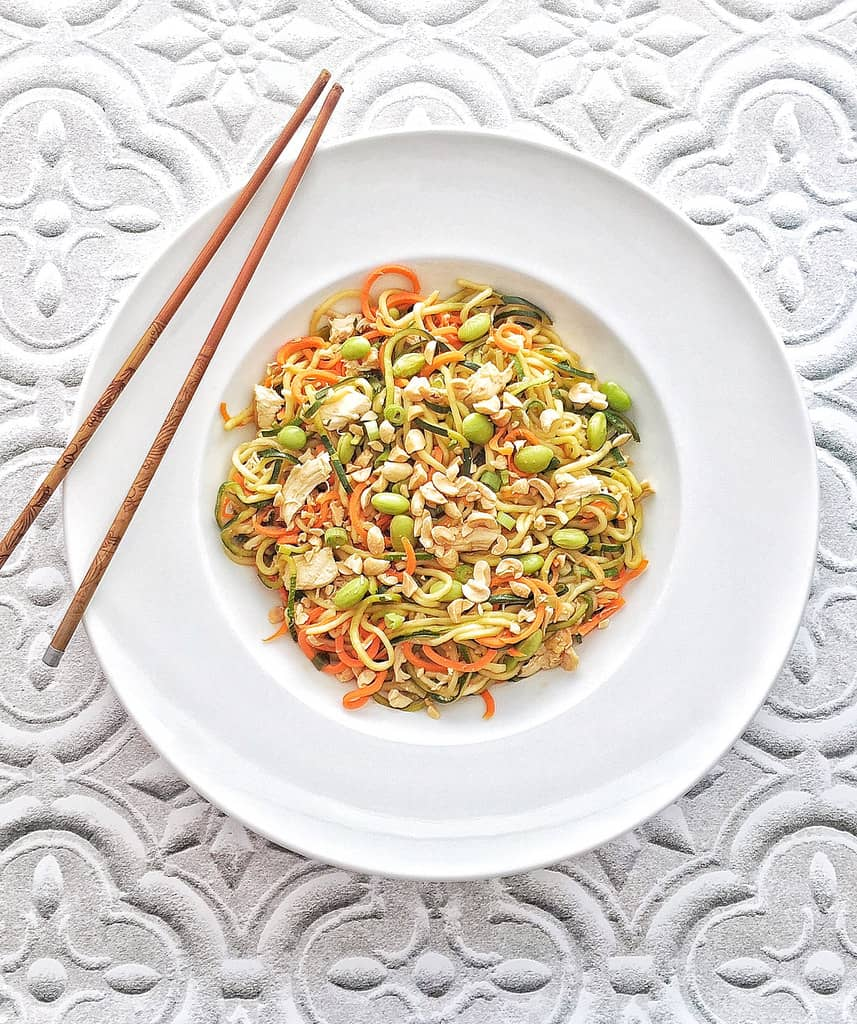 Zoodle and Carrot Lo Mein