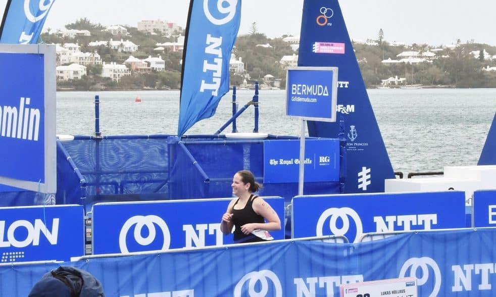 Finishing World Triathlon Bermuda