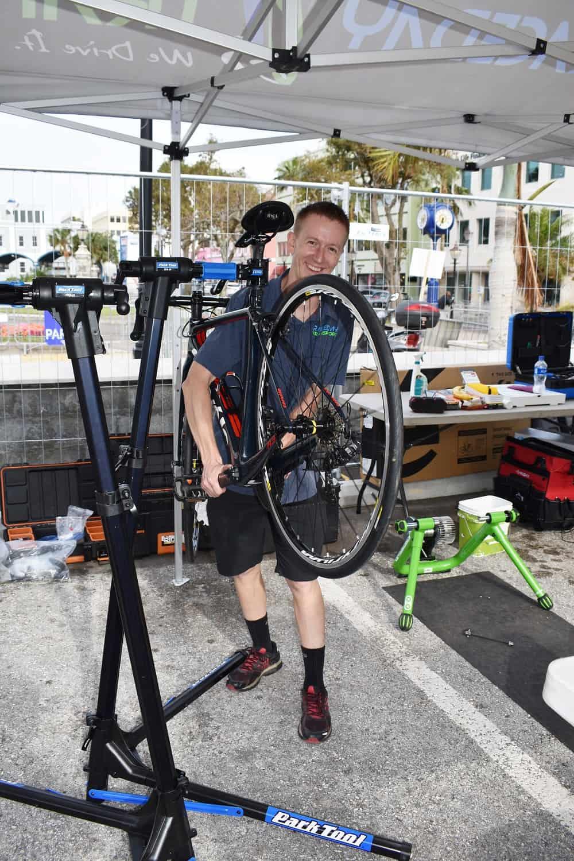 Race Day Transport Bike Rental for Bermuda Triathlon