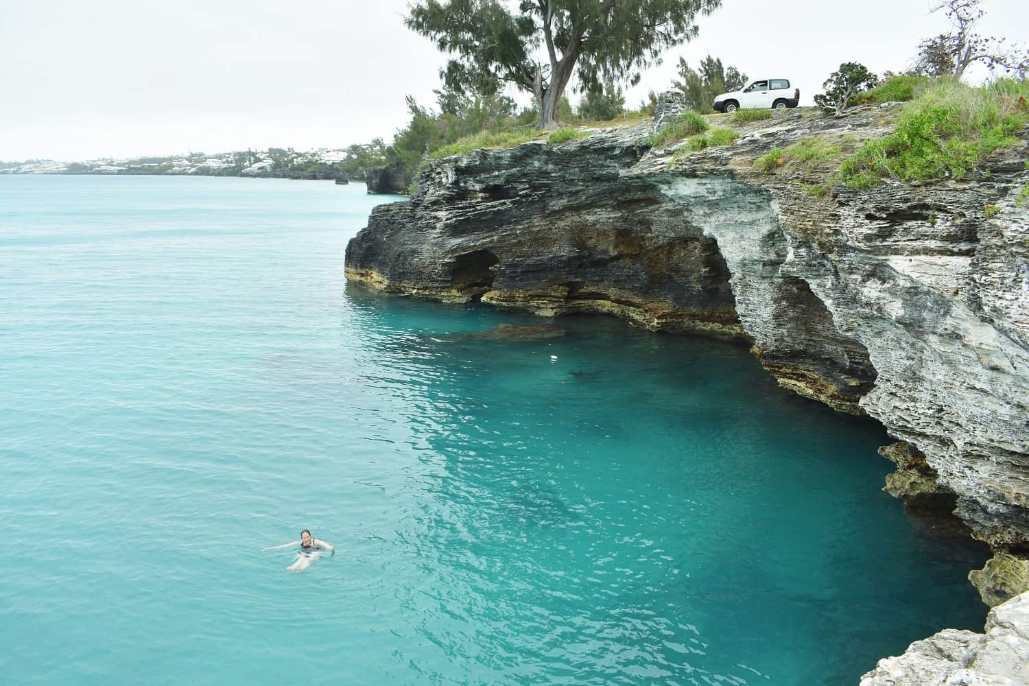 Admiralty House Park in Bermuda