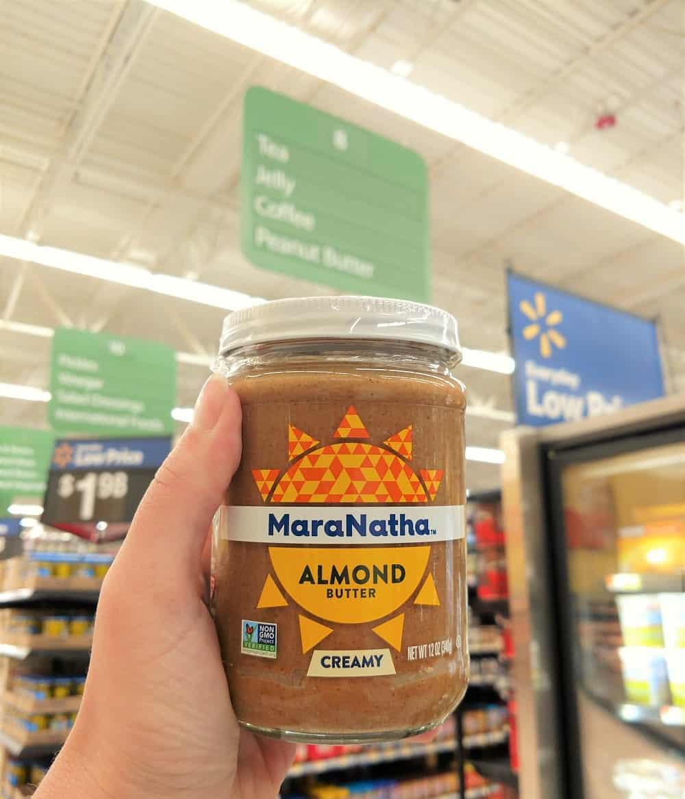 MaraNatha Nut Butter at Walmart