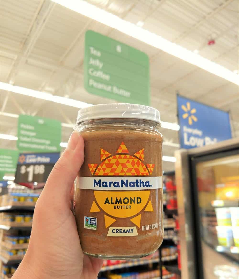MaraNatha Nut Butter at Walmart