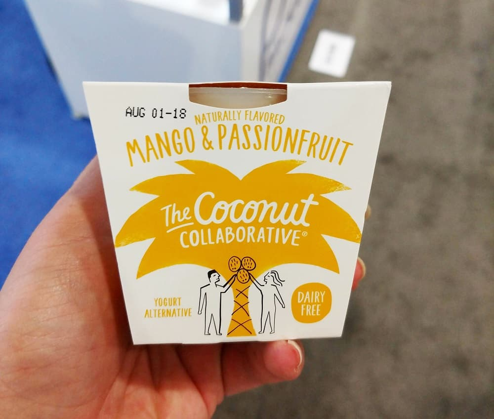 Coconut Collaborative Yogurt at the Fancy Food Show
