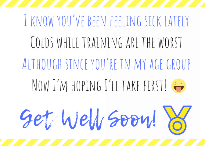 Funny Get Well Soon Poem