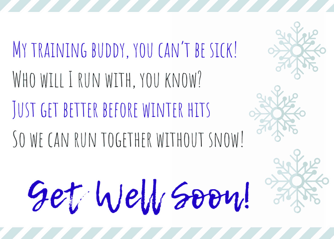 Winter Get Well Soon Poem