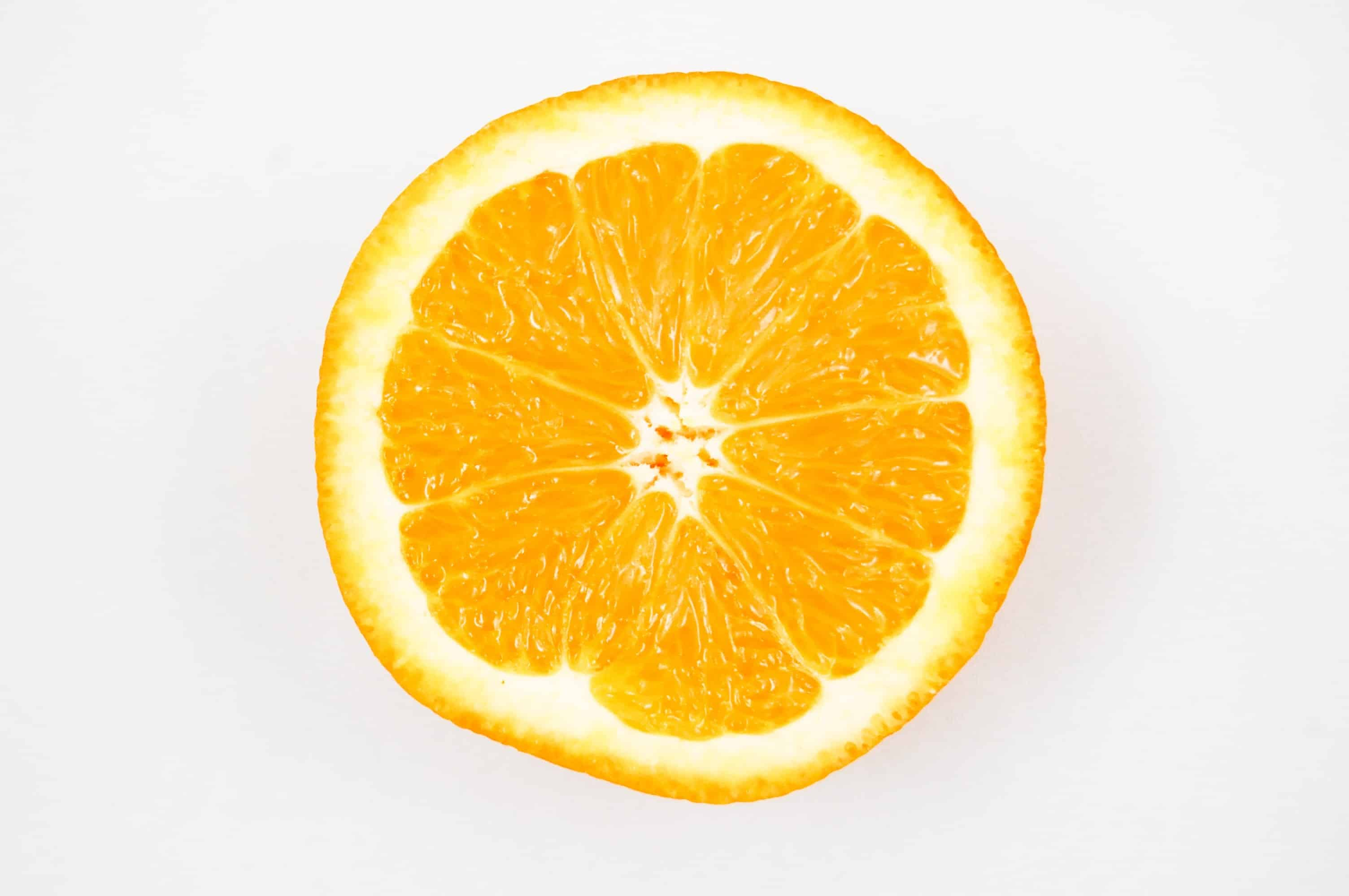 Half of an orange