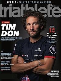 Triathlete Magazine Cover