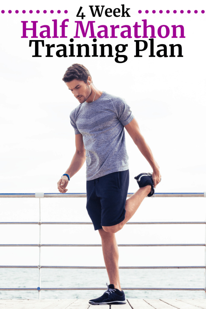 A man stretching and getting ready to go for a run