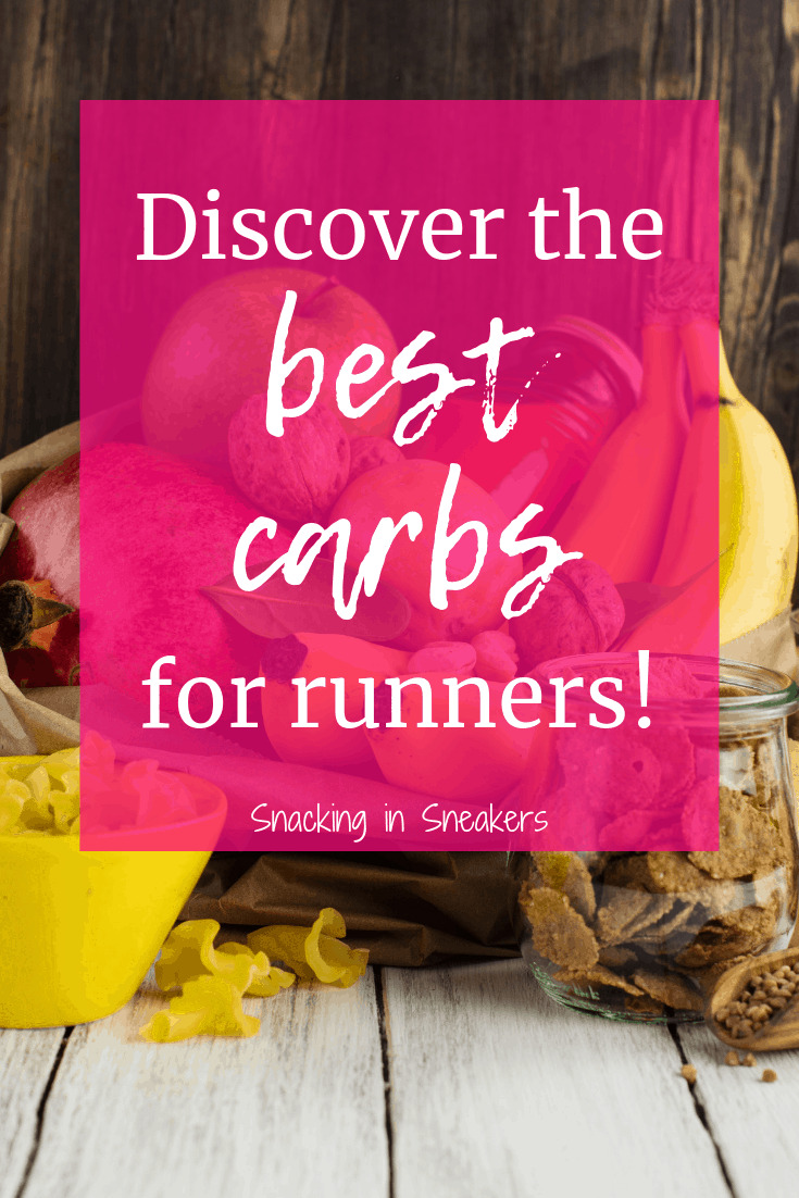An assortment of the best carb foods for runners