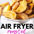 A bowl full of air fryer red potatoes