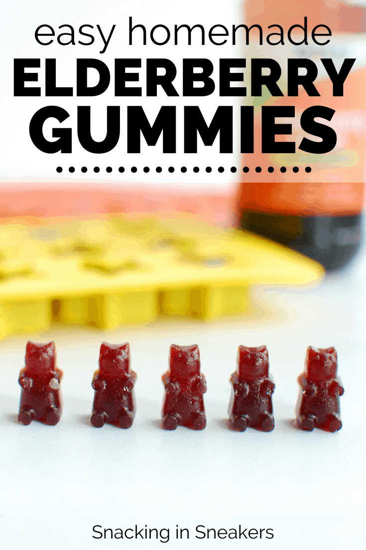 5 elderberry gummy bears